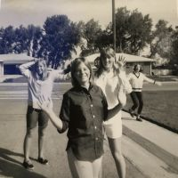 Denise LaForge with LHS friends Laurie Fowler and Marilyn Kinney.JPG